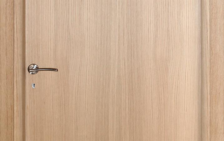 Veneered unpainted doors